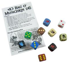+10 Bag o' Munckin d6 (10)