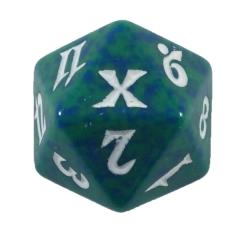 10th Edition - Green & Blue w/White