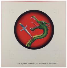 11th Lyran Guard - St. George's Regiment Original Unit Insignia