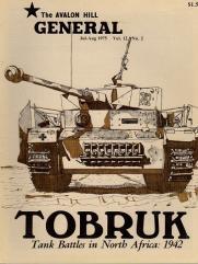 "Vol. 12, #2 ""Tobruk, Bulge 1940 Variant, PanzerBlitz"""
