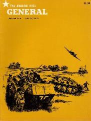 """Vol. 12, #5 """"PanzerBlitz, Third Reich, Anzio"""""""