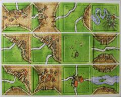 Carcassonne Game Tiles Mini Expansion