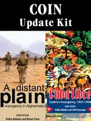 Cuba Libra/Distant Plain Update Kit (2nd Edition)