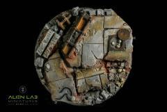 130mm Urban Rubble (Round Base)