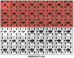 Panzer Leader/Blitz - General v13n3 Variant Counters w/Iron Cross and Red Star