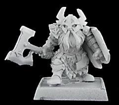Gargram Heavyhand - Dwarf Sergeant