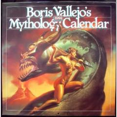 Boris Vallejo's Mythology Calendar (1992)