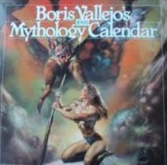 Boris Vallejo's Mythology Calendar (1993)