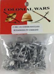 Chinese Regulars Skirmishing w/Command