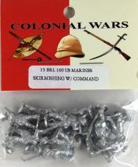 US Marines Skirmishing w/Command