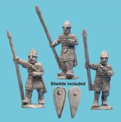 Armored Spearmen Advancing