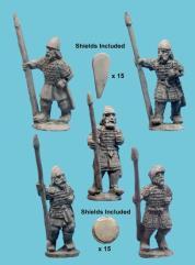 Armenian Armored Spearmen Advancing
