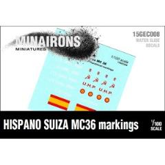 Hispano Suiza MC-36 Markings