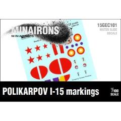 Polikarpov I-15 Markings