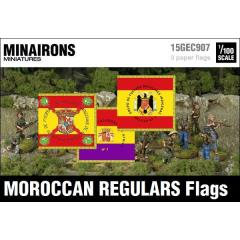 Moroccan Regulars Flags