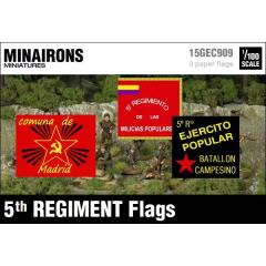 5th Regiment Flags