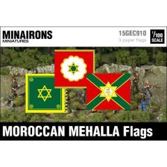 Moroccan Mehalla Flags