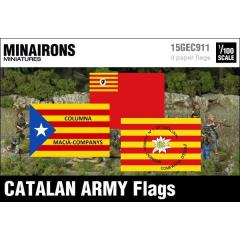 Catalan Army Flags