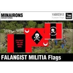 Falangist Militia Flags