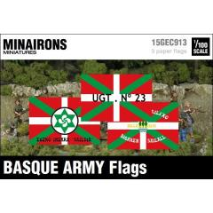 Basque Army Flags