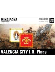 Valencia City IR flags