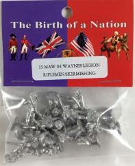 Waynes Legion Riflemen - Skirmishing
