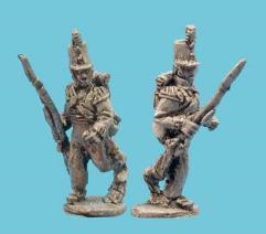 British Light Infantry Advancing