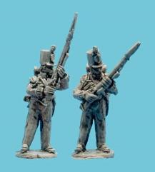 British Flank Company Defending Pose 1