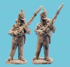 British Flank Company Defending Pose 2