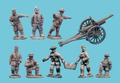 75mm Field Gun and Crew