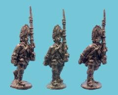Austrian German Grenadier - Advancing