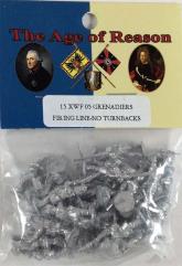 French Grenadiers Firing Line - No Turnbacks