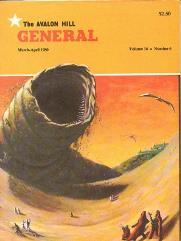 """Vol. 16, #6 """"Dune, Outdoor Survival Scenario, Anzio Scenario"""""""