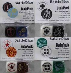 16mm BudaPack Dice Set (8)