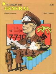 "Vol. 17, #3 ""Afrika Korps, Third Reich, Crescendo of Doom, Russian Campaign"""
