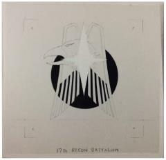 17th Recon Battalion Original Unit Insignia