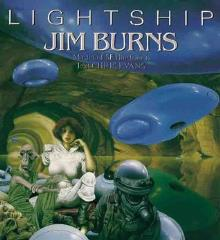 Lightship - Jim Burns, Master of SF Illustration