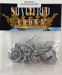British 18lb Field Gun & Crew