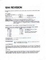 1914 Revision