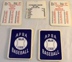 APBA Baseball Player Cards - 1927 Pittsburgh Pirates