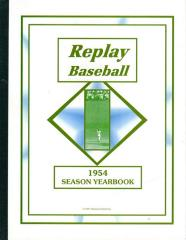 Season Yearbook - 1954
