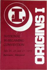 1975 Origins I Program