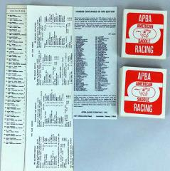 Saddle Racing Horses & Jockeys (1977 Season)