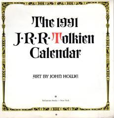 1991 J.R.R Tolkien Calendar