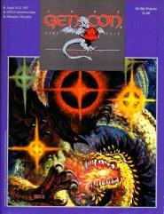 1992 Gen Con/Origins On-Site Program