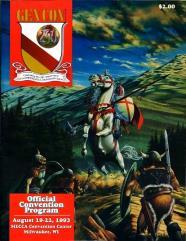 1993 Gen Con Official Program