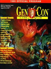 1995 Gen Con Official Program