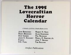 1995 Lovecraftian Horror Calendar