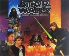 Star Wars 1995 Calendar
