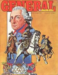 "Vol. 20, #3 ""Frederick the Great Variant Counters, Conquistador, Down with the King"""